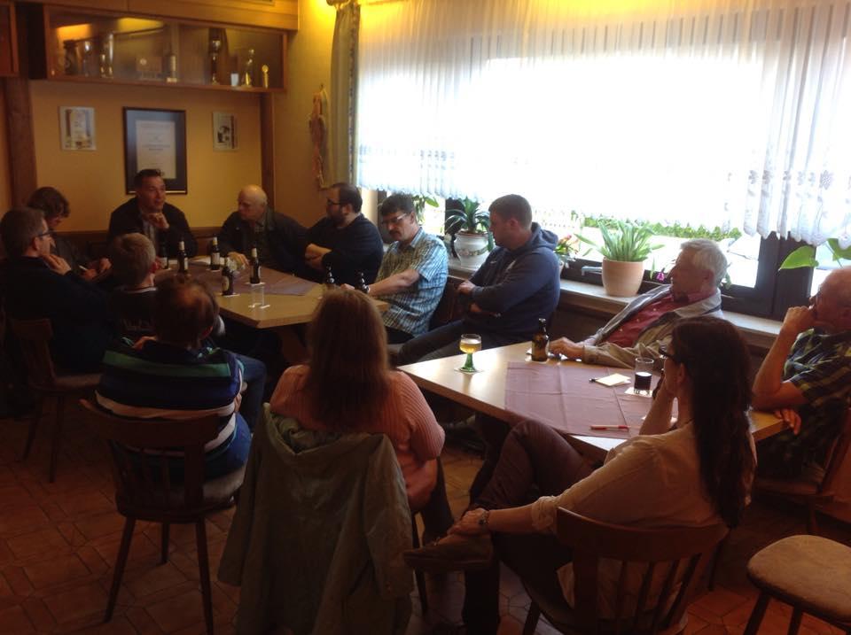 Am 20.05.2015 fand in der Pension Roswitha das 2. Dorfgespräch statt.