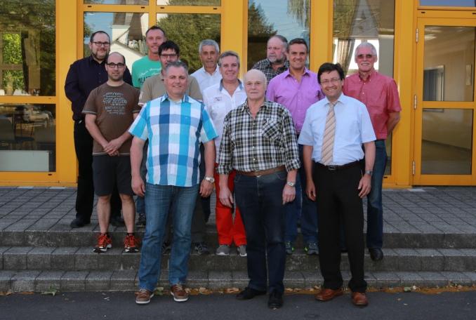 Der neue Gemeinderat von Geisfeld - Zum Artikel auf www.volksfreund.de