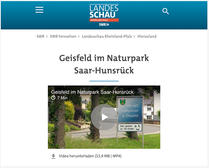 Klick zum Video auf SWR.de